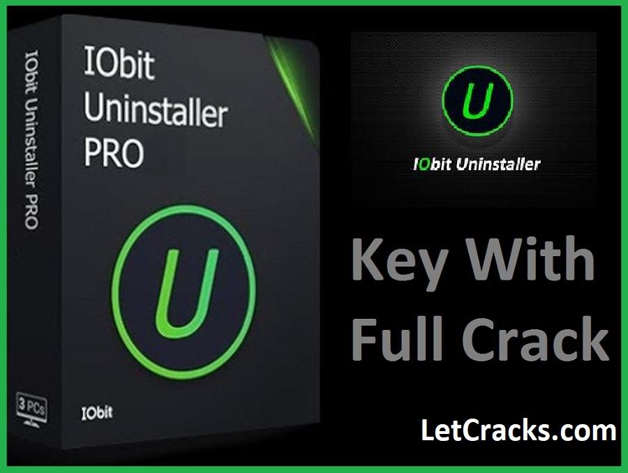 IObit Uninstaller Pro Crack + Key