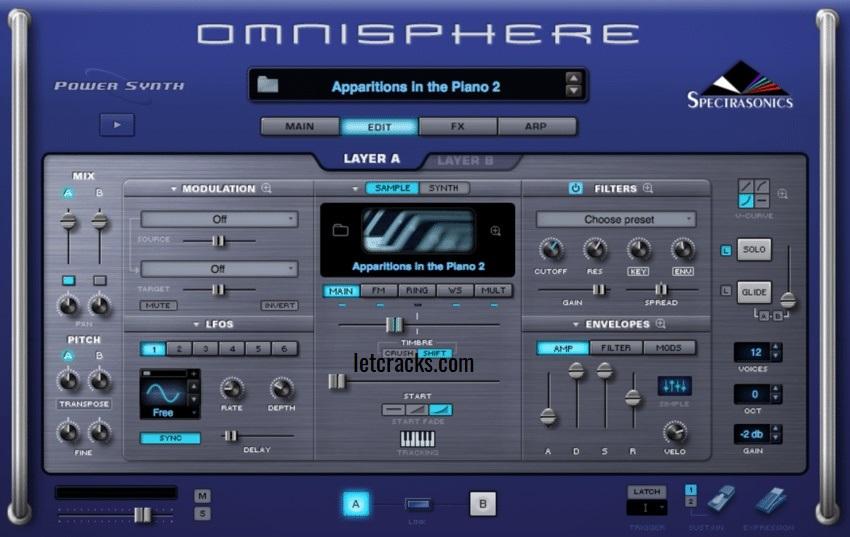 Omnisphere Free Crack